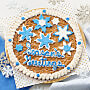 Season's Greetings Cookie Cake