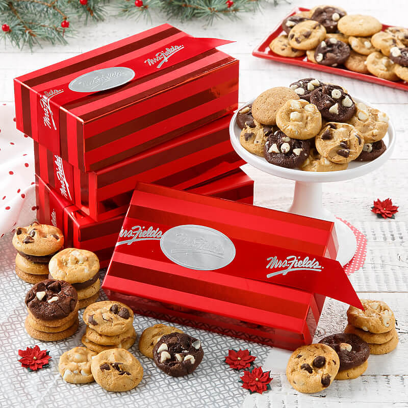 24 Nibblers Red Striped Box Case of 20