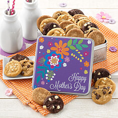 Mothers Day Bouquet Mini Tin