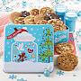 Peace, Love & Cookies 12 Cookies Tin
