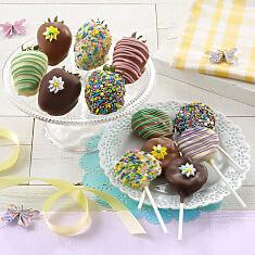 Spring Chocolate Berries  Nibblers
