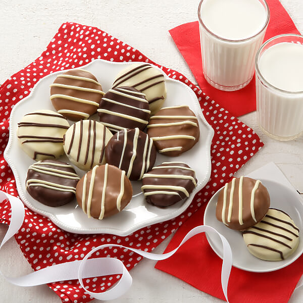 Classic Belgian Chocolate-Covered Nibblers Cookies