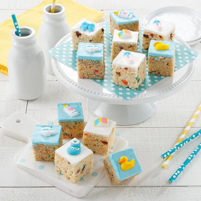 Baby Boy Rice Krispie Mini Gift Box
