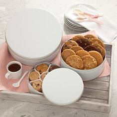 White Cookie Tin Regular