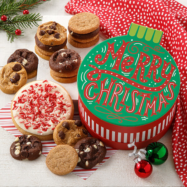 Merry Christmas Ornament Box