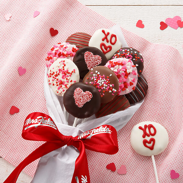 Valentine Chocolate Nibblers Bouque
