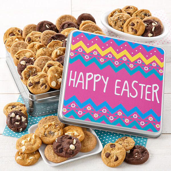 Happy Easter 60 Nibblers Tin