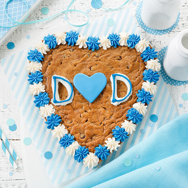 Sweetheart Dad Cookie Cake
