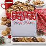 Reindeer Holidays 60 Nibblers Tin