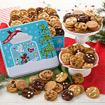 Peace Love  Cookies 90 Nibblers Tin