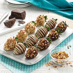 Dozen Nut  Chocolate Berries