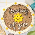 cookie cake thinking of you cake cookie gift