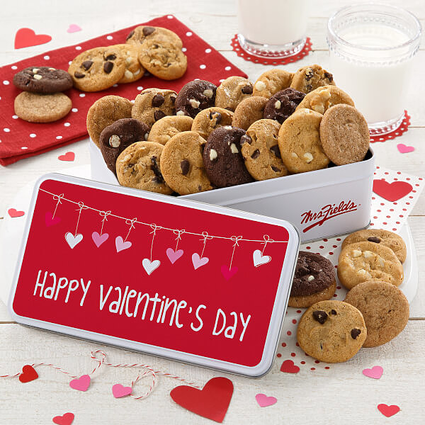 Valentines Day 30 Nibbler Tin