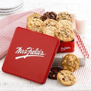 Mrs Fields Full Dozen Signature Cookie Tin