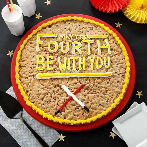 Star Wars Cookie Cake