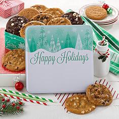 Custom Holiday Trees 12 Cookies