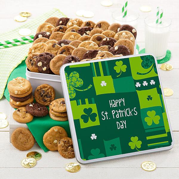 St. Patrick's Day 60 Nibbler Tin
