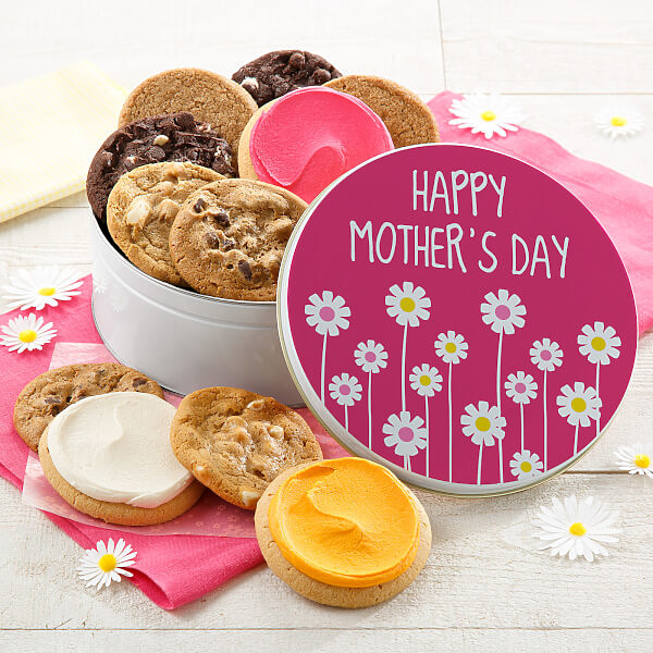Mothers Day Cookie Tin