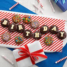 Birthday Belgian Chocolate Nibblers