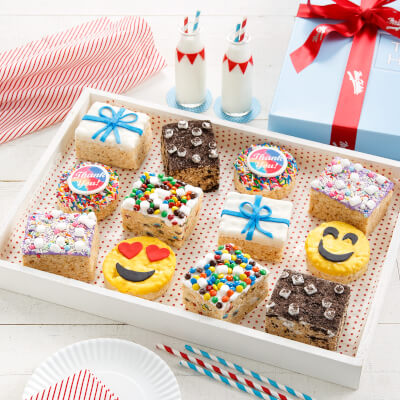 Deluxe Rice Krispie Thank You Gift Box