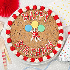 Wondrous Giant Cookie Cakes Gourmet Cookie Cakes Delivered Mrs Fields Funny Birthday Cards Online Sheoxdamsfinfo