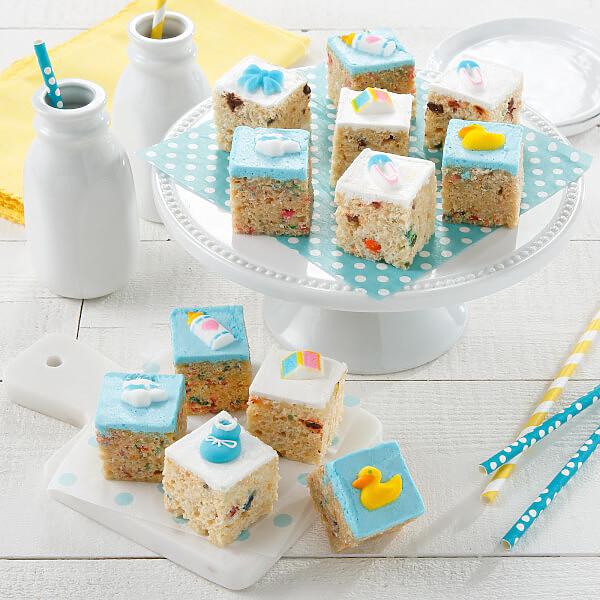 Baby Boy Rice Krispie Mini Gift