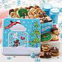 Peace, Love & Cookies Medium Combo Tin