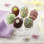 Full Half Dozen Spring Belgian Chocolate Strawberries