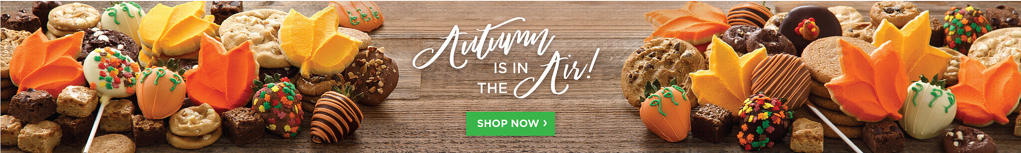 Autumn Is In The Air. Shop Now.