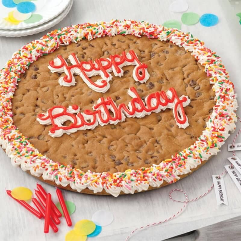 Happy Birthday Big Cookie Cake