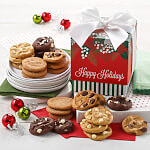 Mistletoe Mini 24 Nibbler Gift Box Nut-Free