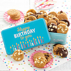 Happy Birthday 30 Nibblers Tin