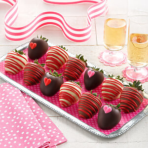 Full Dozen Love Belgian Chocolate Strawberries