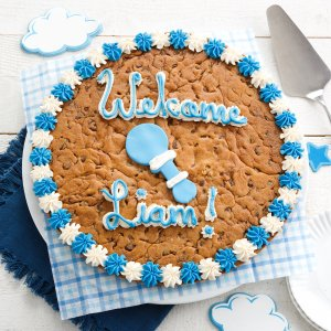 Its a Boy Custom Cookie Cake