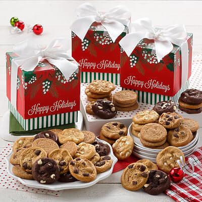 Mistletoe 24 Nibbler Gift Box Case of 12