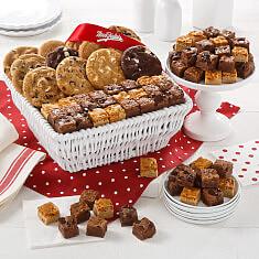 Dozen Cookies  Brownie Bites Baske