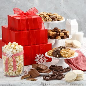 Abundant Crimson Cookie Tower Nut-Free - Abundant Crimson Cookie Tower Nut-Free