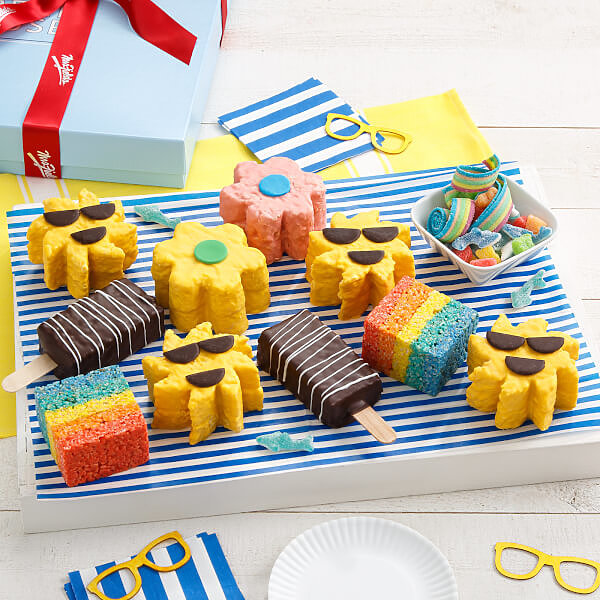 Deluxe Rice Krispie Summer Fun Gift Box