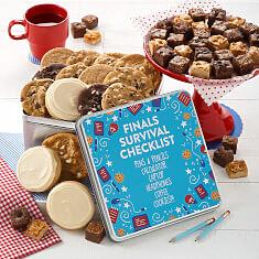 Final Exams Checklist Tin