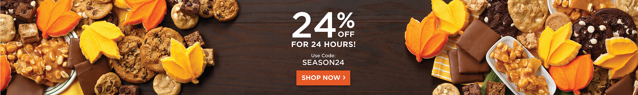 24% Off Sitewide for 24 hours with code: SEASON24