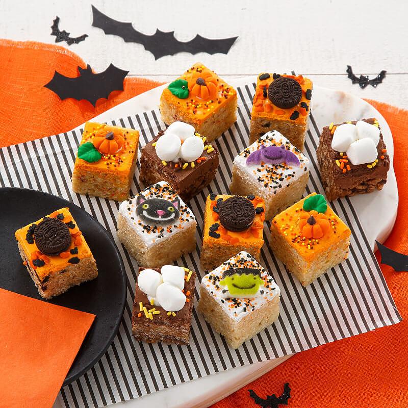 Halloween Mini Rice Krispie Gift Box
