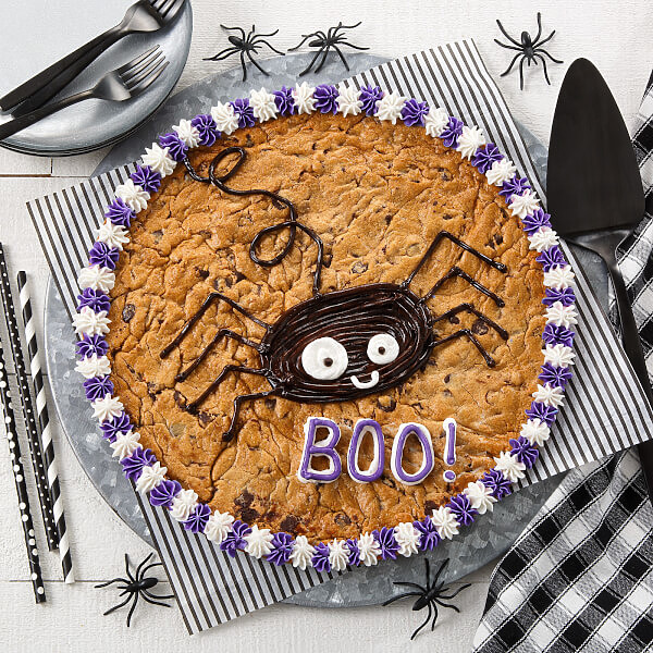 Not-so Scary Spider Cake
