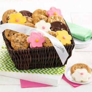 Flower Cookie Basket
