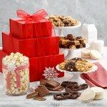 Abundant Crimson Cookie Tower Nut-Free