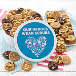 Heroes 48 Nibblers Round Tin