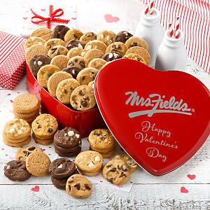 Valentine Nibblers Heart Tin