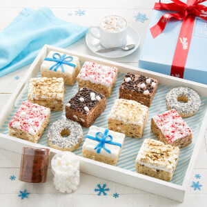 Deluxe Rice Krispie Winter Gift Box