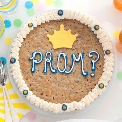 cookie cake prom graduation gift