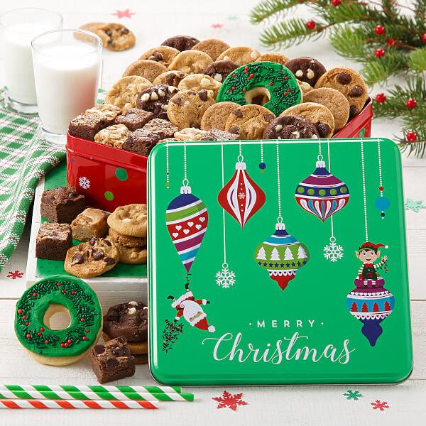 Merry Christmas Medium Combo Tin