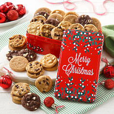 Merry Christmas 30 Nibblers No Nuts